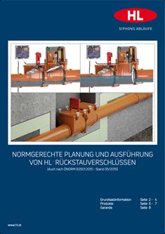 Normgerechte Planung Und Ausfuhrung Von Hl Ruckstauverschlussen